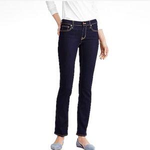 J. Crew Women's Straight & Narrow Stretch Jeans